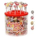 30 x Sugar Free Fruity Lollipop Vitamin C - Simpkins Sweets Lolly 11g